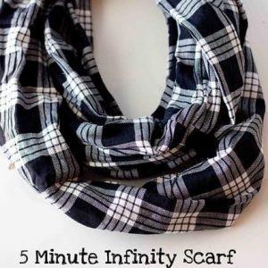 Make an Infinity Scarf in 5 Minutes!