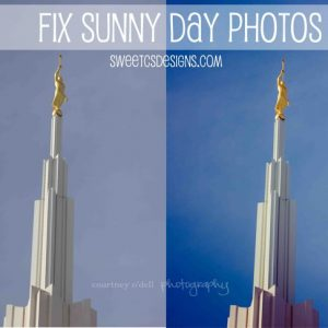 {photography} Editing Bright Day Photographs