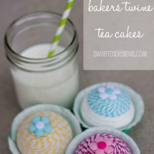 Bakers Twine Tea Cakes