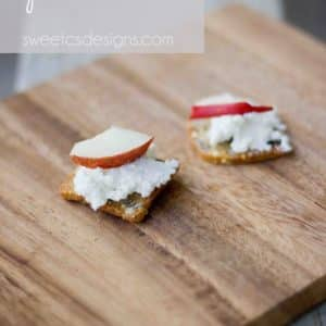 Cheese and Pear Crostini