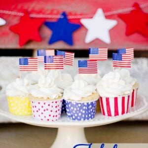 Fabulous 4th Cupcakes