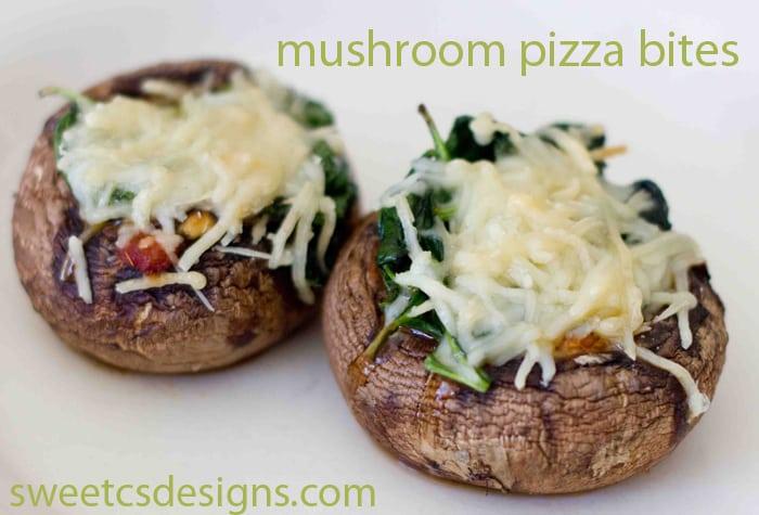 Mushroom, Pizza bites