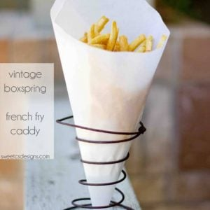 Fries, Vintage, Holder