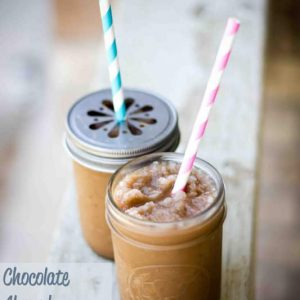 Chocolate Almond Blended Coffee #RedCupShowdown