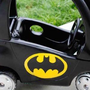 Batmobile Cozy Coupe Refashion