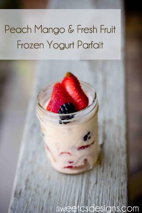 how to make frozen parfait