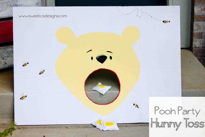 Pooh Party Hunny Bag Toss