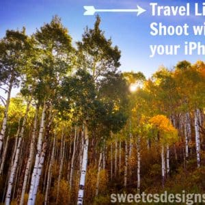 Travel Light- Great Pictures With Your iPhone!