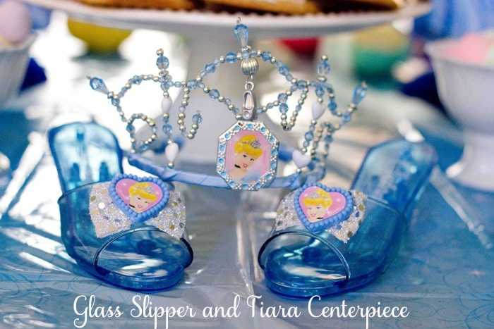 Glass slipper centerpiece images cinderella fenton