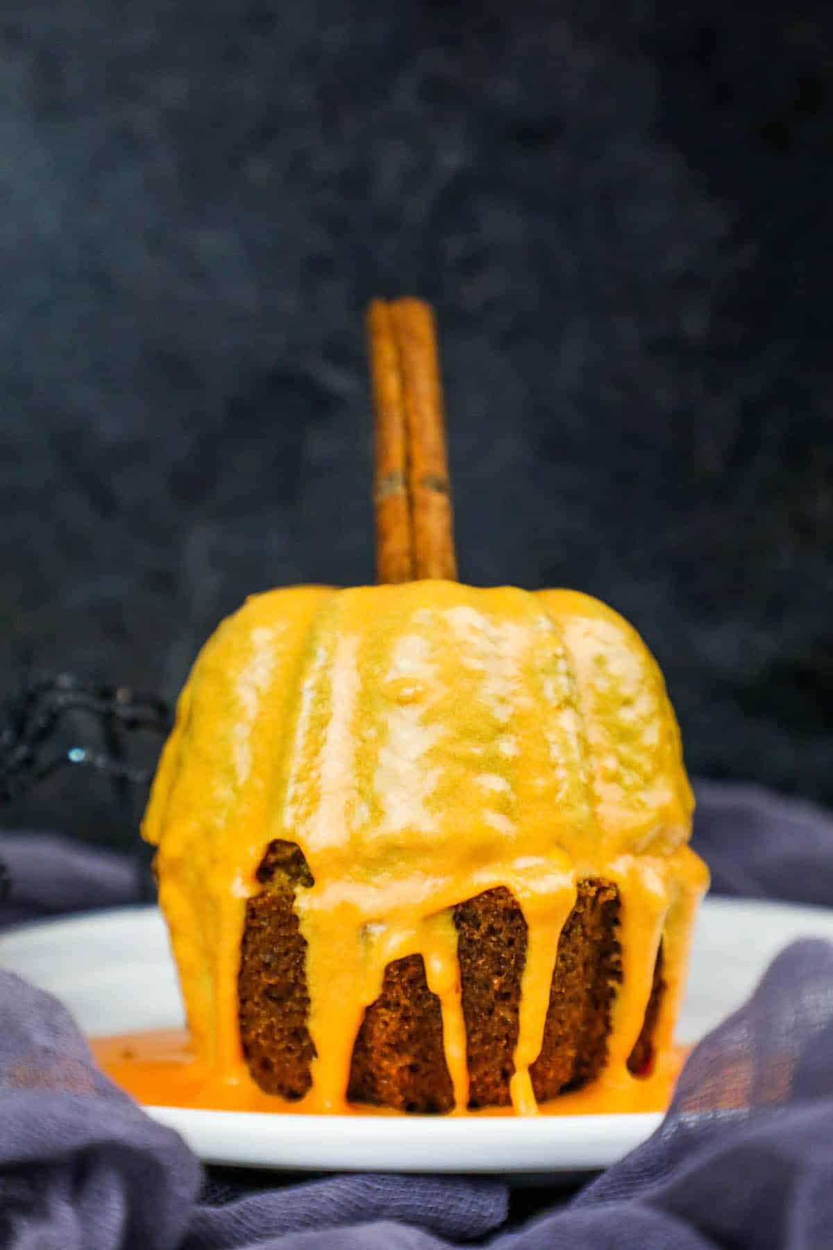 Pumpkin Bread Mini Pumpkins Bunt Cake Halloween Party