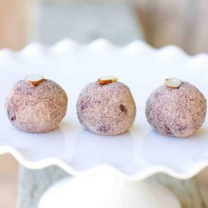 Gluten & Dairy Free Maple Almond Chocolate Fudge Truffles