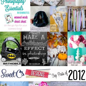 Top Posts of 2012 {and a peek at 2013}