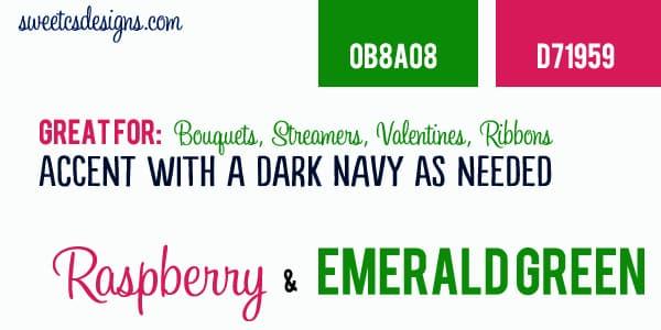 Alternative Valentines Color Combos 2