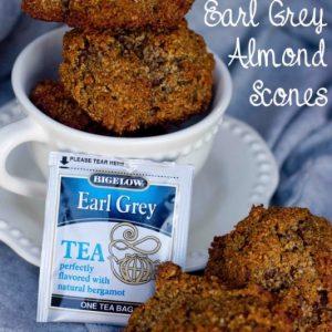 My Special Moments with Bigelow Tea & Grain Free Earl Grey Scones