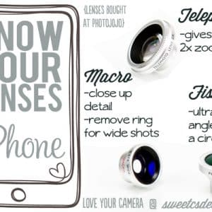 Know Your Lenses: iPhone Lenses