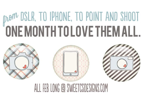 love your camera month at sweetcsdesigns