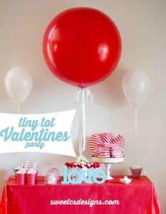 tiny tot valentines day party 2
