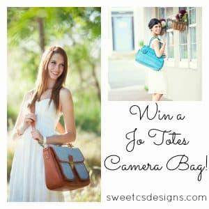 Win a Jo Totes Camera Bag!