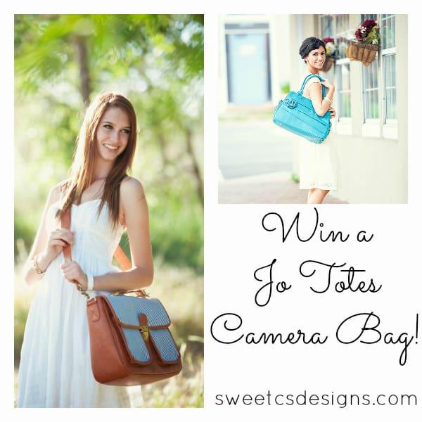 Win a Jo Totes Bag at sweetcsdesigns.com!