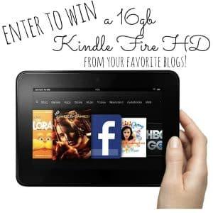 Win a 16gb Kindle Fire HD