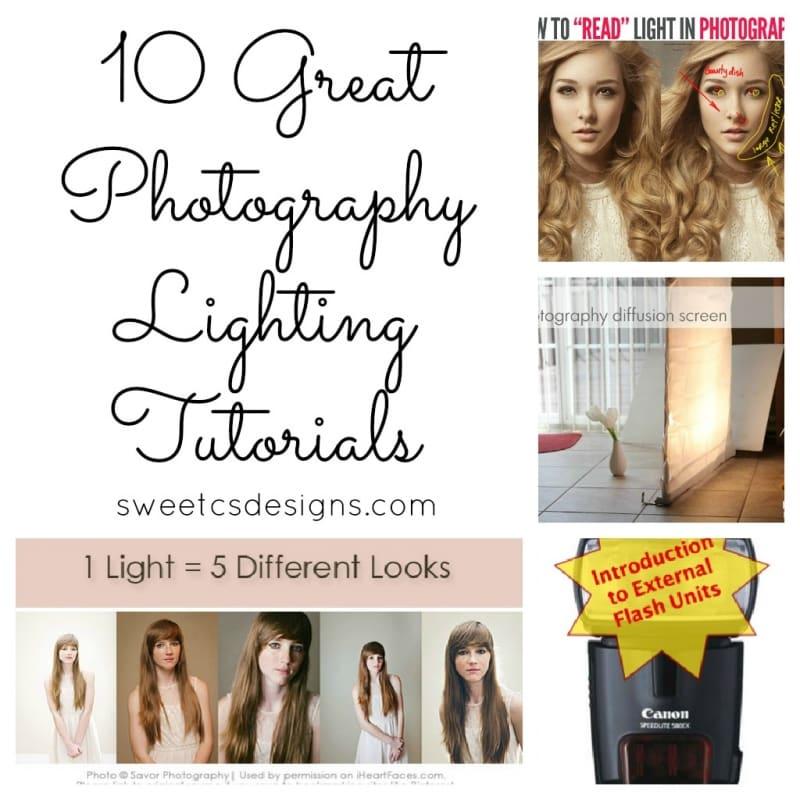 Top 10 Photography Lighting Posts