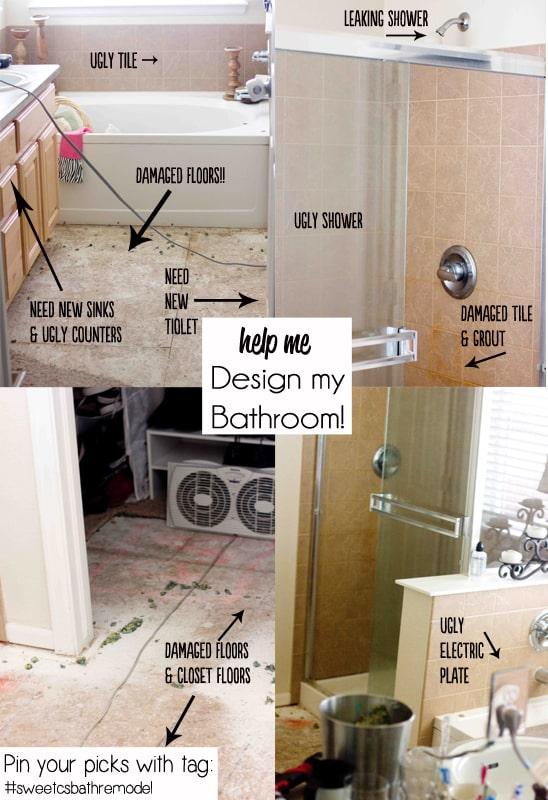 help me design a new master bath #sweetcsbathremodel