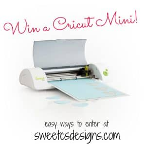Win a Cricut Mini!
