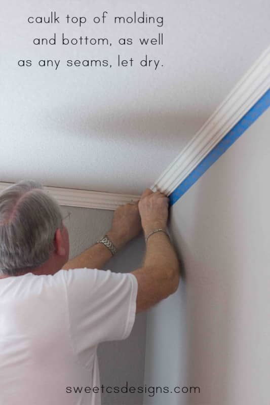 install corwn molding- it is easier than it seems and you dont need to rent a fancy nail gun!