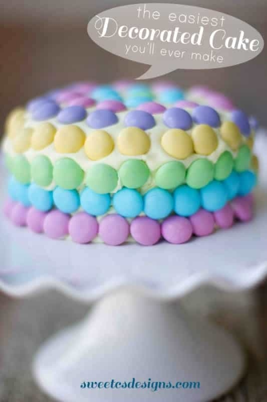 The Easiest Decorated Cake You'll Ever Make