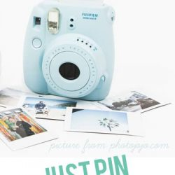 pin and win an instax mini camera! these are so cool and perfect for summer!