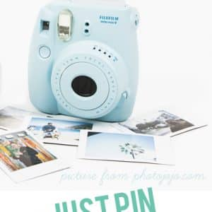 Pin to Win an Instax Mini Camera!