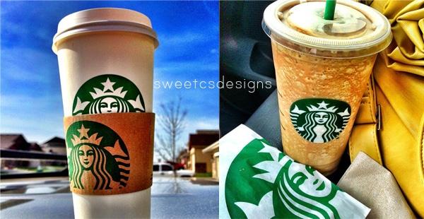 starbucks love by sweetcsdesigns on instagram