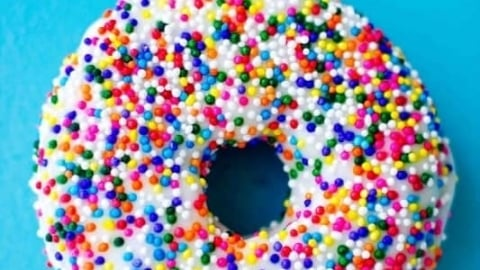 Birthday Cake Doughnut Recipe