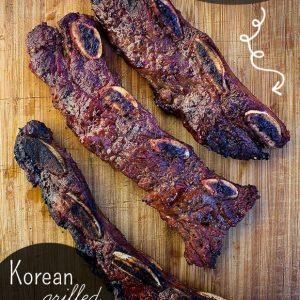 Korean Grilled Flanken Ribs