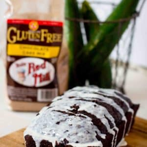 4 Ingredient Chocolate Zucchini Bread