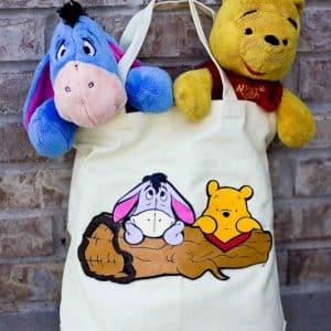 Easy DIY Winnie The Pooh Tote Bag
