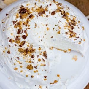 5 Minute Angel Toffee Cake