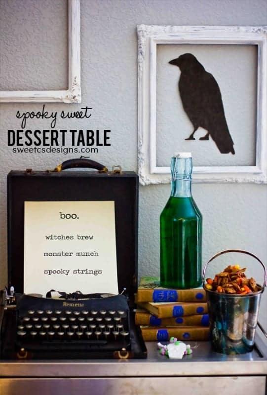 Spooky Sweet Halloween Dessert Table