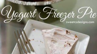 5 Minute Yogurt Freezer Pie