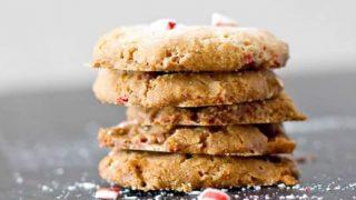 4 Ingredient Peppermint Cookies