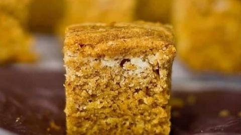 4 Ingredient Pumpkin Bread Bites