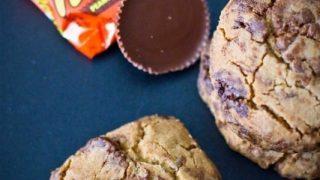 4 Ingredient Reeses Peanut Butter Cup Cookies