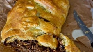 Steak Stew Pasty