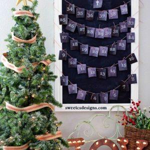 Orthodox Advent Calendar Printable