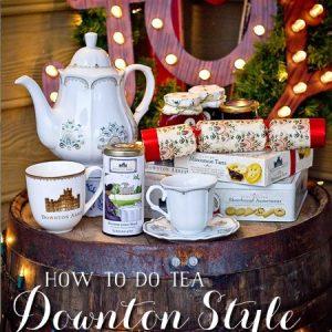 Downton Inspired Christmas Tea Party Picks!