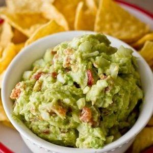 Green Chili Guacamole