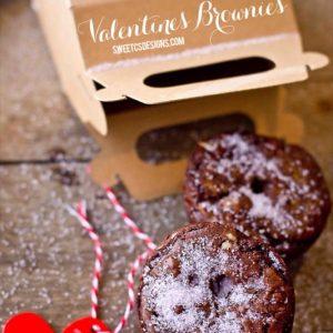 Pink Sugar Valentines Brownies & Treat Boxes
