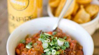 Steak & Tomatillo Chili