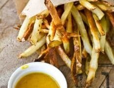 Crunchy Baked Fries