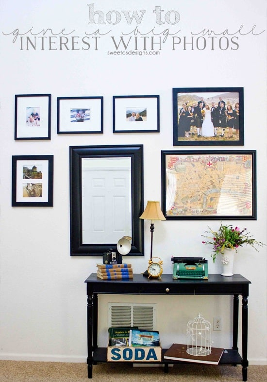 how-to-give-a-big-wall-interest-with-photos
